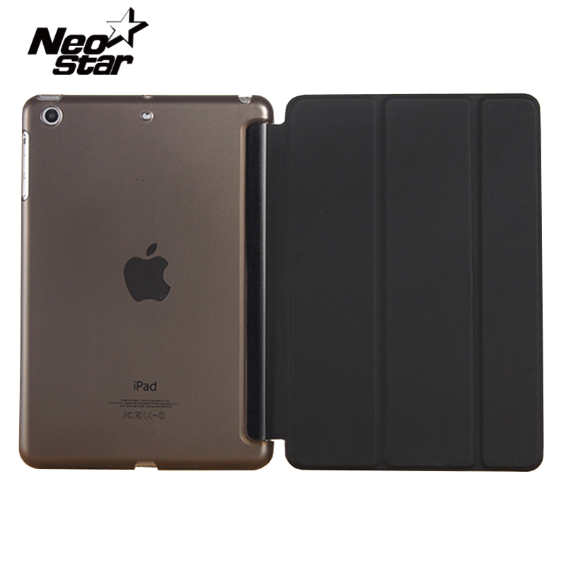Original Case For Ipad Air 2 PU Leather Smart Tablet Cases With  PC Transparent Back Cover Auto Sleep Wake Up + Pen Film for ipad air 1 case 3 fold pu leather smart wake up sleep rainbow gradient with pc back cover for ipad 5 magnetic flip stand