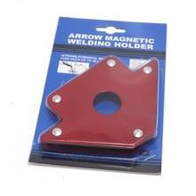 50 фунтов пайки локатор сильный магнит сварки магнитный держатель 3 угла стрелка сварщик позиционер электроинструмент аксессуары