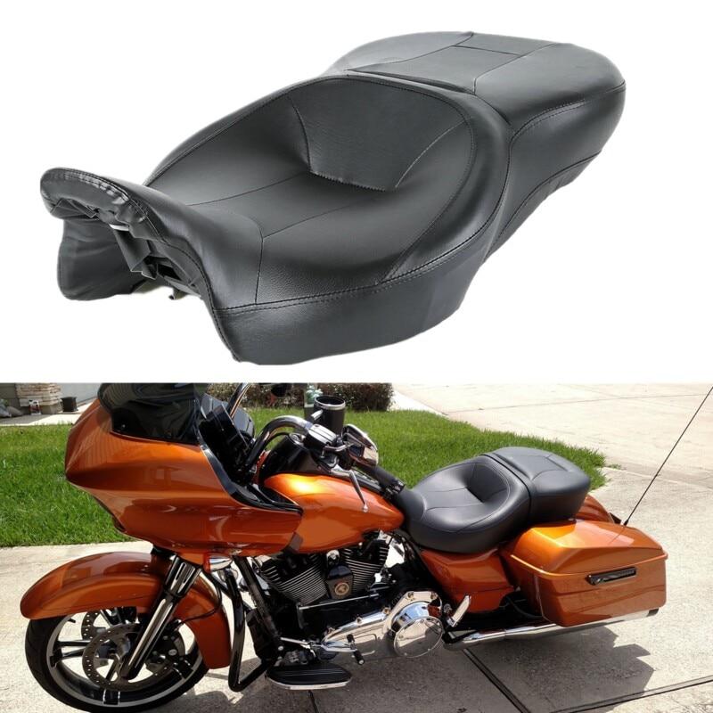 Moto Pilote et le Passager Siège Pour Harley Touring Electra Street Glide Road King Ultra Classique FLHT FLHR FLHX FLTRX 14 -18 - 2