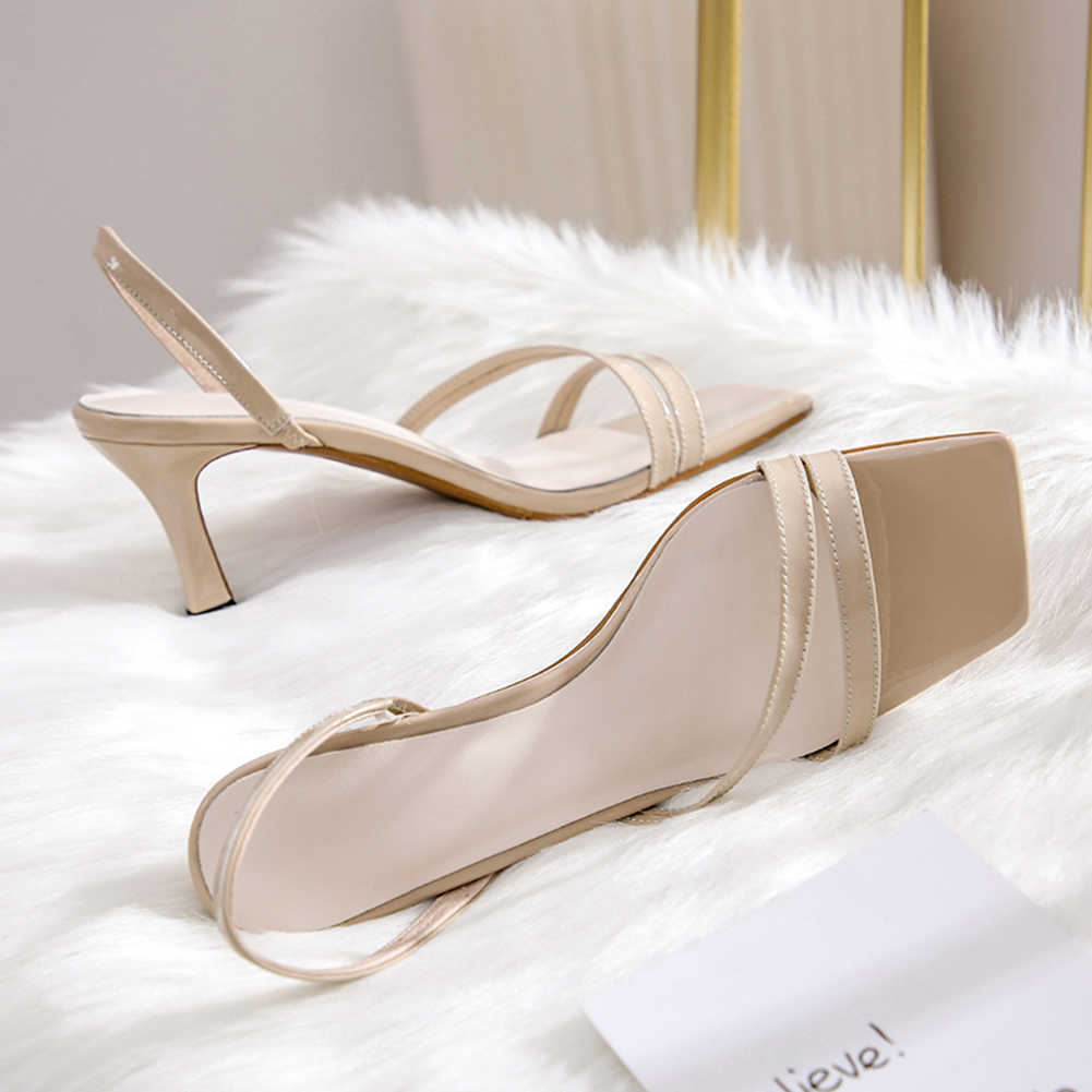 JOUIR TALONS 2019 New Summer Women High Heel Shoes Female Sandals Fashion Simple Ladies Pumps Three Colors