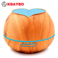 300ml Hot Sale LEDLight Ultrasonic Air Humidifier Mist Maker Fogger Electric Aroma Diffuser Essential Oil Aromatherapy