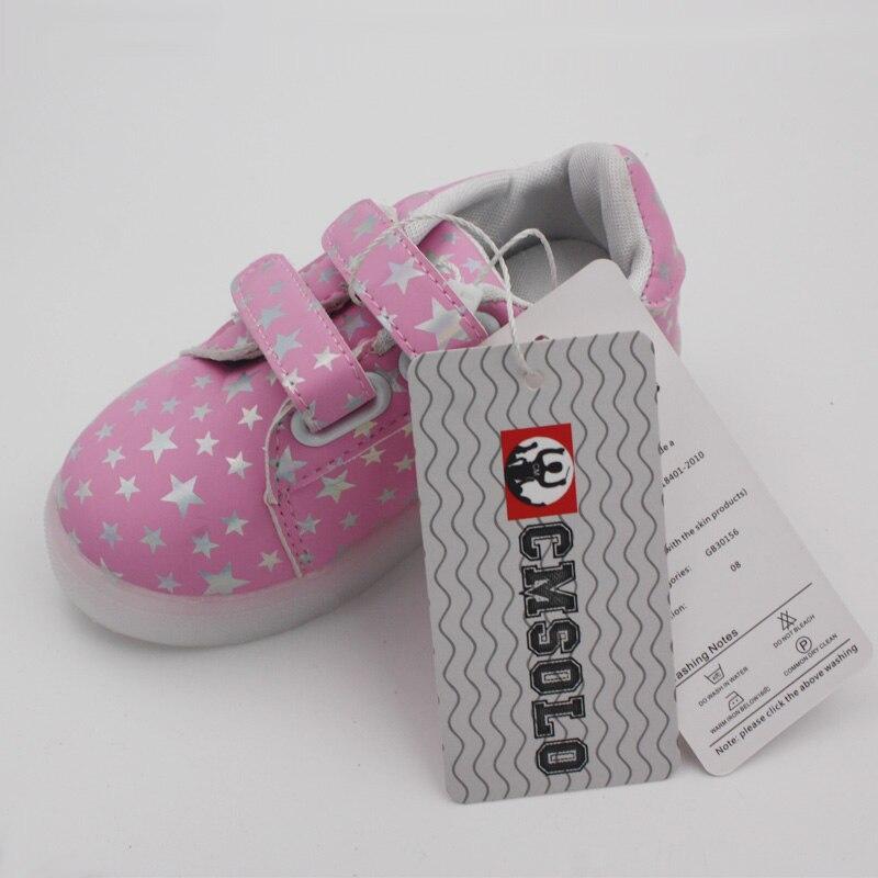 CMSOLO Zapatos deportivos de goma que brillan intensamente Led - Zapatos de niños - foto 6