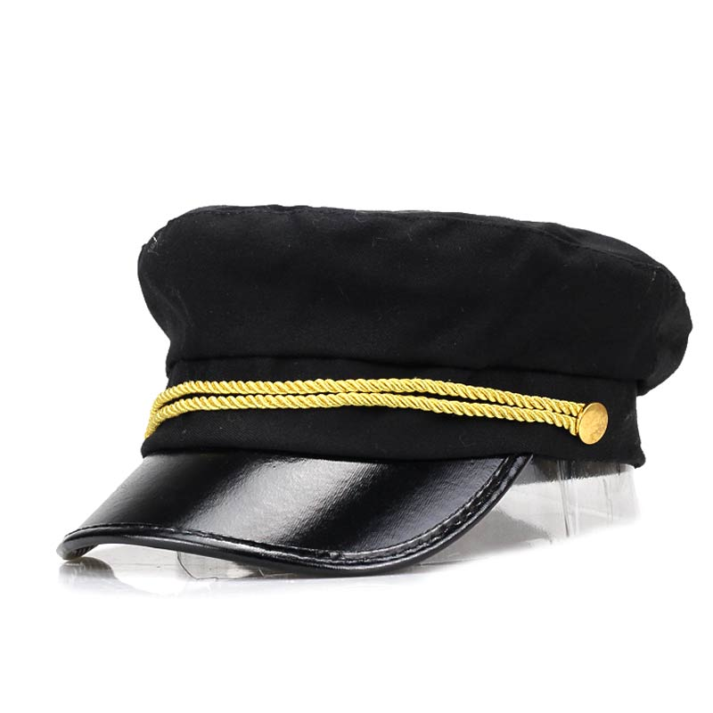 Mens/Womens Retro boina Flat Berets Cap