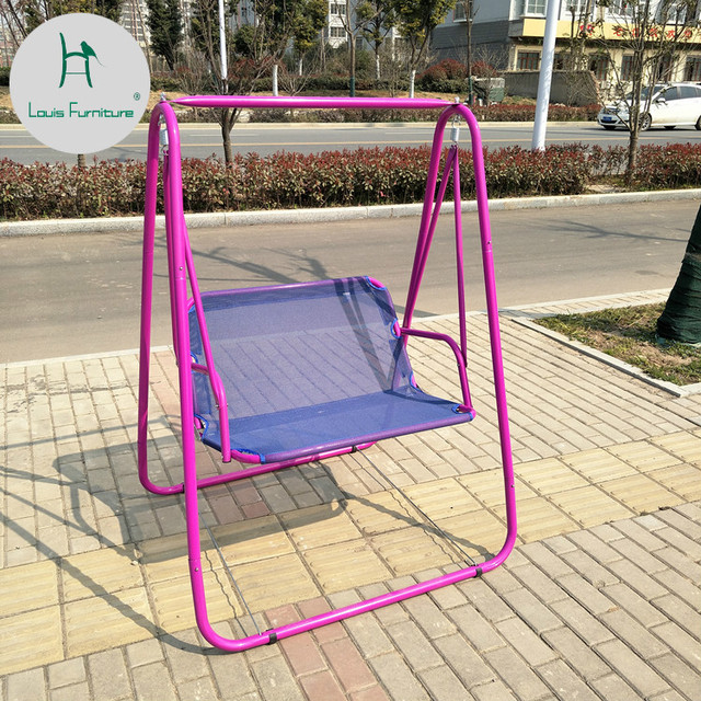 Surprising Louis Fashion Patio Swings Double Rocking Chairs Children Rollover Prevention Hammock Indoor Balcony Stand Lazy In Patio Swings From Furniture On Creativecarmelina Interior Chair Design Creativecarmelinacom