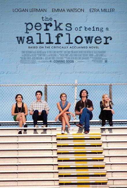 021 Les Avantages D'être une Giroflée-Américain Film Emma Watson 14 x 21 Affiche