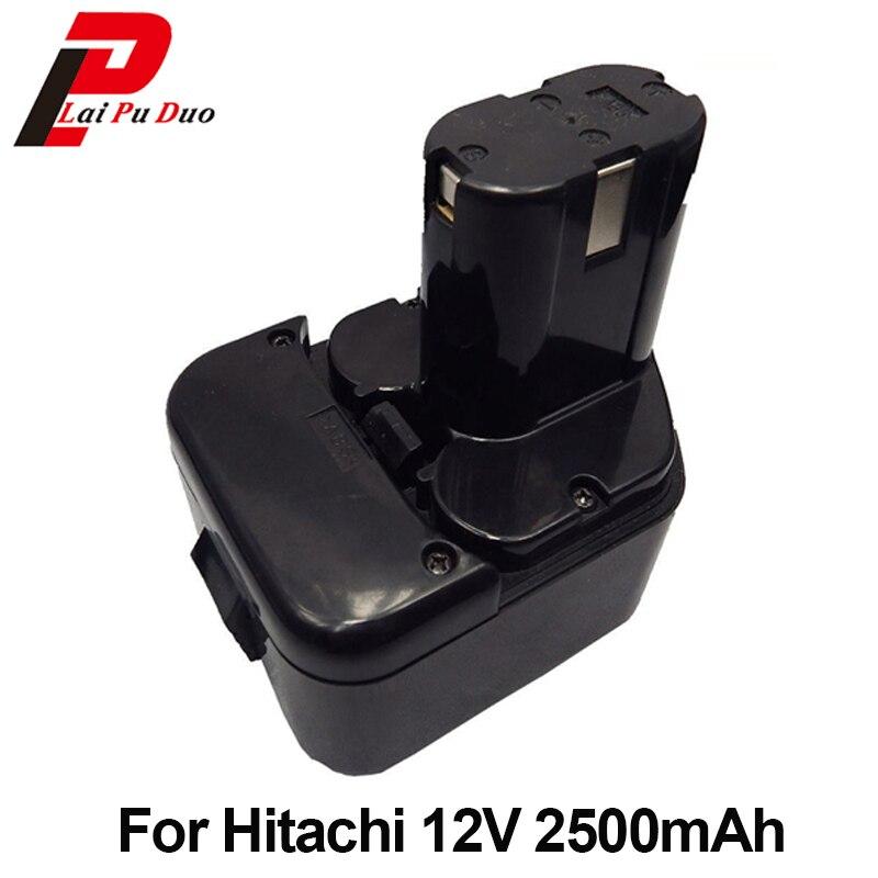 Strumento di potere Batteria di Ricambio 2.5Ah 12 v NI-MH Per Hitachi: EB1214S, FWH12DF, EB1220HL, DS12DVF2, EB1220HS, WH12DM2, EB1230X