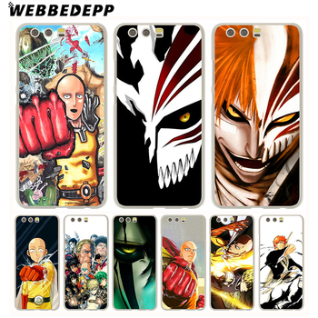 WEBBEDEPP Anime Bleach One Punch Man design Phone Case for Huawei P20 Pro smart P10 P9 Lite 2016/2017 P8 Lite 2015/2017 Cover