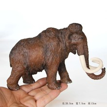 Ice Age Prehistoric Animal A Mammoth In Walk
