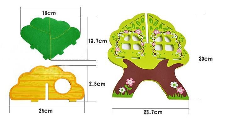 Puukujuline nukumaja puidust