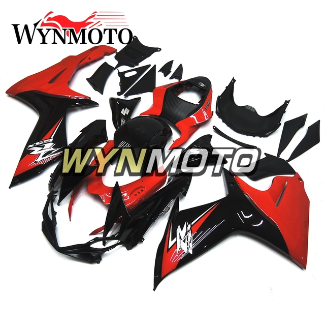 WYNMOTO Fit Suzuki GSXR600 GSXR750 K4 2004 2005 gsxr-600 gsxr-750 04 05 Full Motorcycle Fairings Aluminum Fasteners Bolt Kit Bodywork Screws Hardware Clips Black