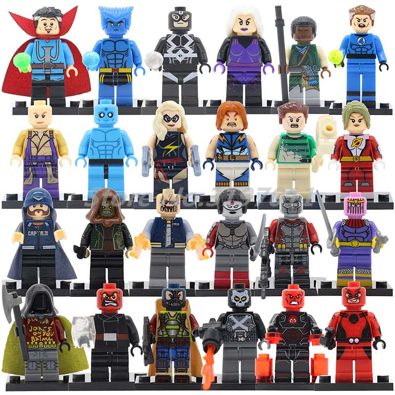Single Sale Marvel DC Death Squads Super Hero Building Block Action Figure Strange Doctors Ant-Man Toys For Children seduced by death – doctors patients