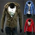 Осень / зима пальто прилив вилочная часть хан издание мужчины в куртка пальто мужчины свободного покроя куртка