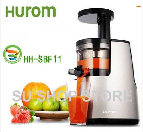 2nd Generation 100 Original HUROM Elite HH SBF11 Slow Juicer Fruit Vegetable Citrus Low Speed Juice