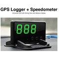 C61 Автомобильный GPS Data Logger + Hud Спидометр Пробег Дисплей 2 В 1 Устройство