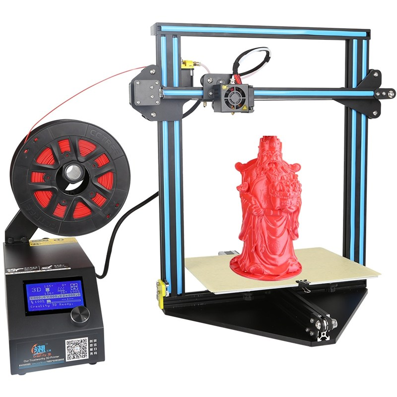 Creality 3D CR-10 Mini DIY 3D Printer Kit Support Resume Print 300*220*300mm Printing Size 1.75mm 0.4mm Nozzle the resume kit