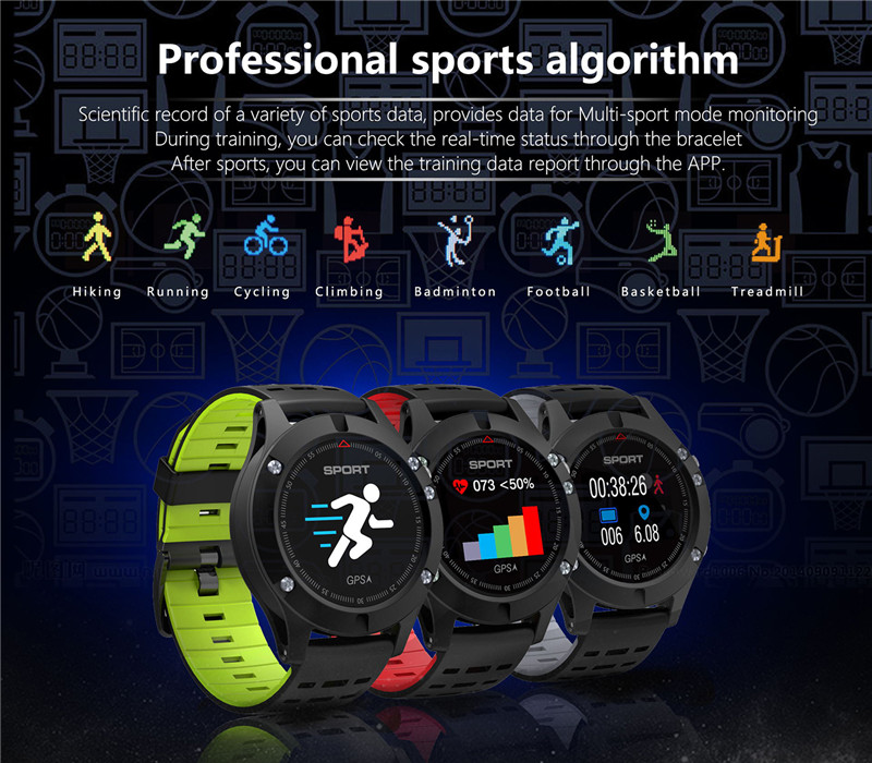Altitude Thermometer Cycling GPS Watch Andriod Ios Womens Heartbeat Smartwatch Multi Sport Outdoor Watches Men Clock Russian