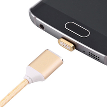 Magnetic charger Micro Usb Data Cable for iPhone 6 6s Plus 7 Charging Cable Android for Samsung HUAWEI XIAOMI Mobile Phone