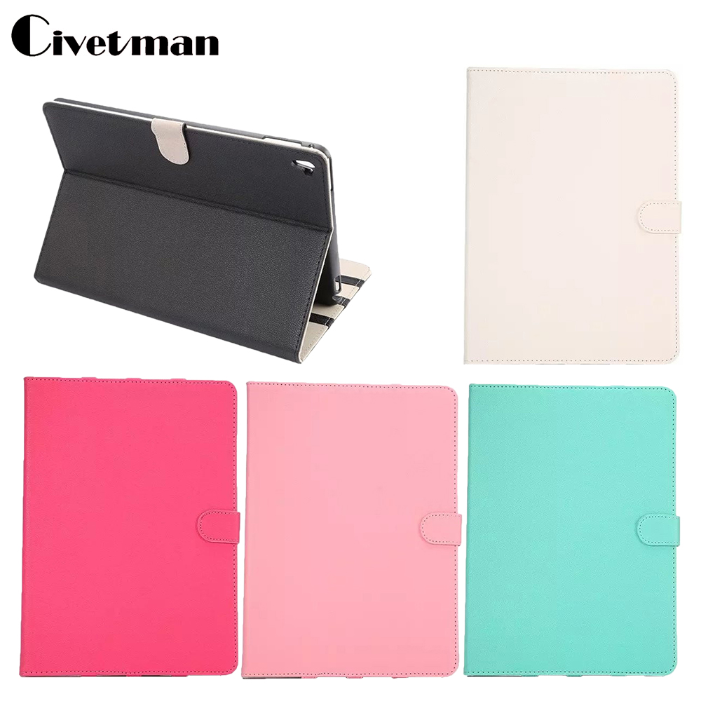Civetman For ipad Air 3 Fashion Open Close Wake Up Sleep Flip PU Leather Case For For Apple iPad Pro 9.7 Cover with Smart Stand  g cover hi quality fashion flip open pu leather stand case w pocket for ipad air ipad 5 black