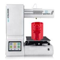 Geeetech mini impressora 3d e180 open source alta precisão função wi fi portátil tela sensível ao toque da impressora 3d 1.75mm 0.4mm só pla|3d printer|mini 3d printer|mini printer 3d -