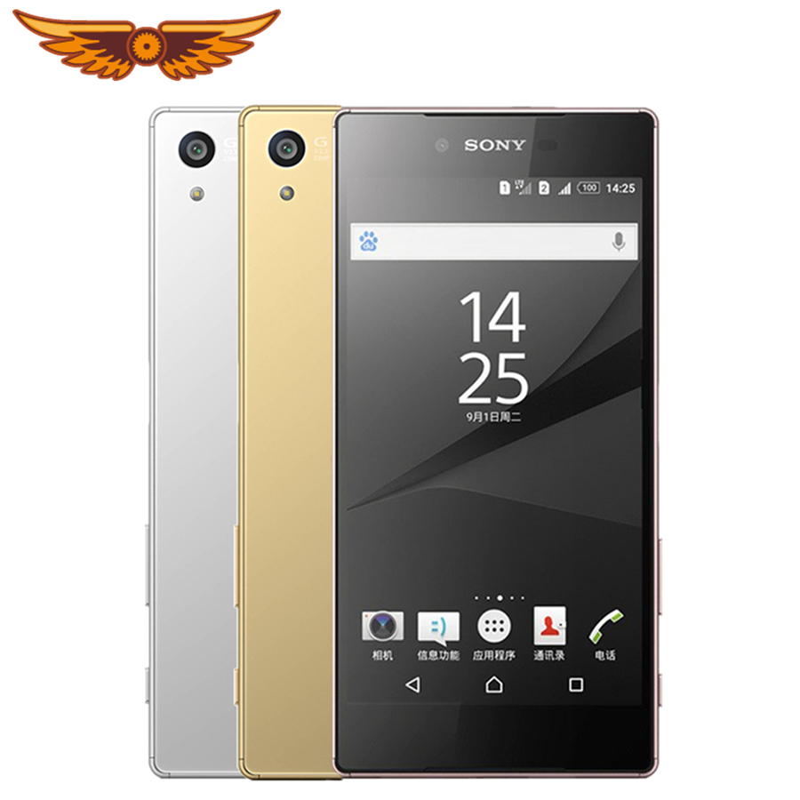 Original Unlocked Sony Z5 Premium E6853 Octa Core 5.5 Inches 3GB+32GB Single SIM Card LTE Rear Camera 23.0MP 2160*3840 Cellphone(China)
