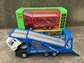 Caja de regalo de embalaje 1:50 juguetes modelo de Coche para niños de Aleación de materiales de Ingeniería de vehículos de Transporte serie vehículos regalo del Niño