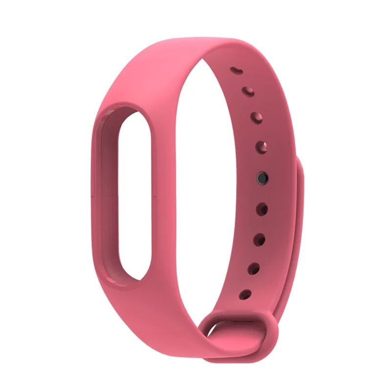 IN STOCK Xiaomi Mi Band 2 Colorful Silicone Strap For Xiaomi miband 2 Bracelet Replace Smart Wrist Strap Mi Band Accessories 11