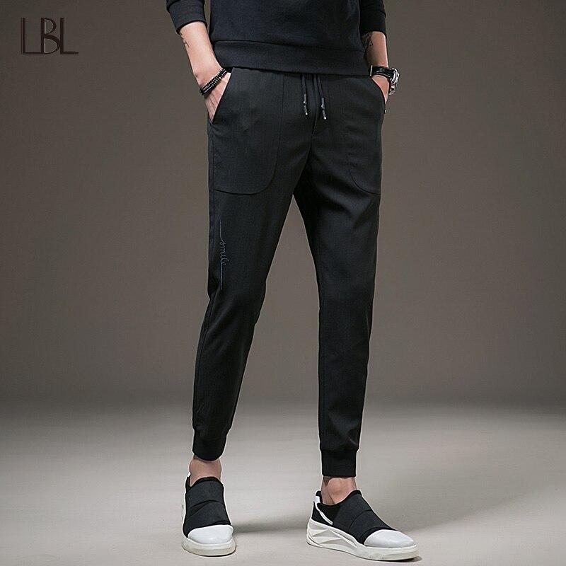 Mens Sweatpants Casual Pants Men Jogger Streetwear Hip Hop Sportsman Bodybuilding Solid Trousers Male Fitness Sweat pant Outwear