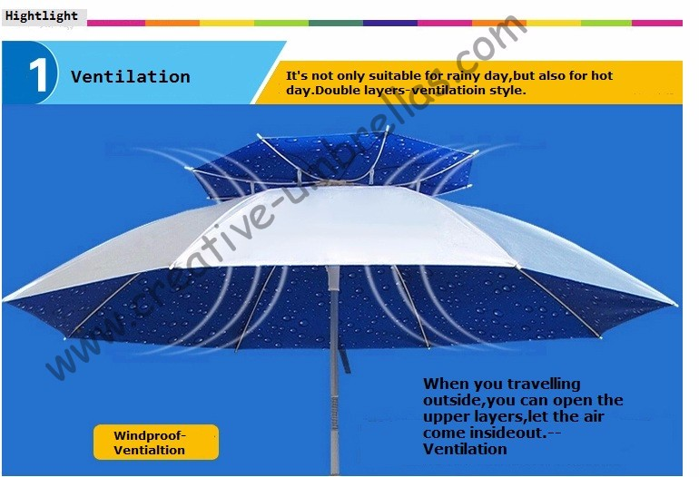 UV Roof paraguas eje 6