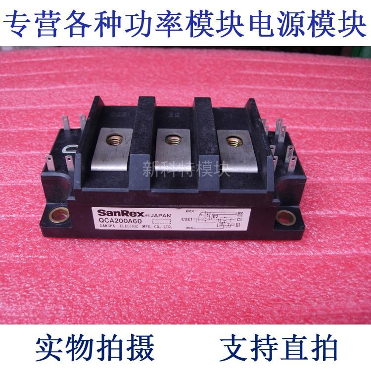 QCA200A60 SANREX 200A500V 2-Cell Darlington Module kd621k30 prx 300a1000v 2 element darlington module