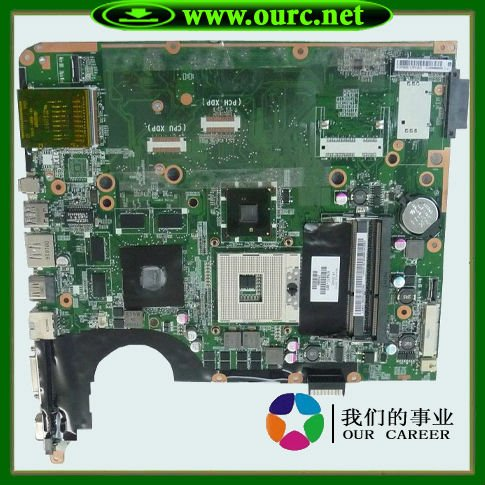 Top quality , For HP laptop mainboard 575477-001  Dv7 Dv7T DV7-1000 laptop motherboard,100% Tested 60 days warranty top quality for hp laptop mainboard la 4091p 486542 001 dv7 dv7 1000 laptop motherboard 100% tested 60 days warranty