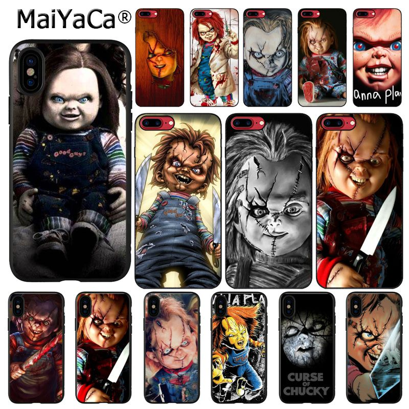 MaiYaCa CHUCKY HORROR CHURSE OF CHUCKY CHILDS PLAY MOVIE <font><b>PhoneCase</b></font> For <font><b>iphone</b></font> 11 Pro Max X XS MAX 6 6s 7 <font><b>7plus</b></font> 8 8Plus 5S SE XR image