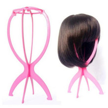 Wig Display Stand Mannequin Dummy Head Hat Cap Hair Holder Foldable Stable Tools G6927