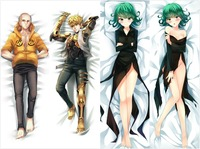 Japan Anime Hugging Body Pillow Case ONE PUNCH MAN Saitama Genos Pillowcase