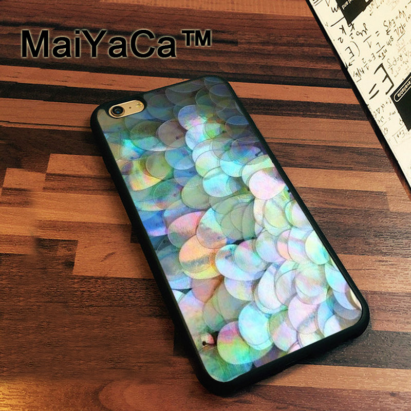 MaiYaCa Iridescent Holographic sequins Case For iPhone 7