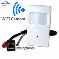 720P IP Hidden With WIFI Port Covert Camera Motion Detector HD PIR STYL Wireless IP Camera