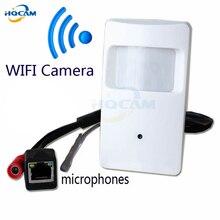 720P mini IP camera with WIFI port Covert Camera Motion Detector HD PIR STYL Wireless IP Camera mini ip camera wifi P2P Security