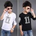 2016 autumn children's clothing boys t-shirts causal printed long sleeve cotton boy t-shirt for boys kids clothes tshirts tops