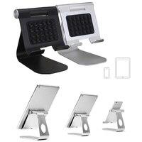 Luxe Aluminium Mobiele Telefoon Duurzaam Beugel Verstelbare Play Stand Sucker Houder Universele Voor iPad Telefoons Dock Base