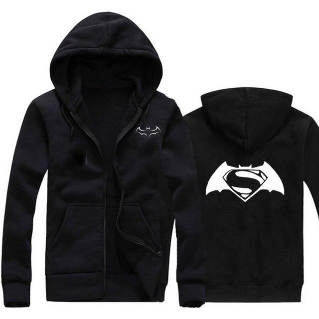 1e7140140c324 Nueva moda Batman imprimir sudadera Sudaderas hombres hip hop ropa  deportiva casual slim fit Hombre hoodied