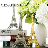 France Paris Eiffel Tower model European metal window large props Home Furnishing living room decoration decoration