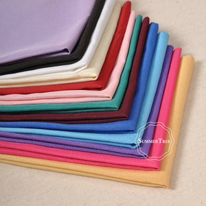 Image 3 - Servilleta de lino de poliéster para comedor, 12x12 pulgadas, pañuelo de tela cuadrada, pañuelo, suministros para fiesta de boda, decoración de banquete de Hotel en casa