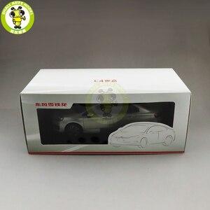 Image 5 - 1/18 C4 C4L Diecast auto modell Spielzeug Kinder Junge Mädchen GESCHENKE Gold