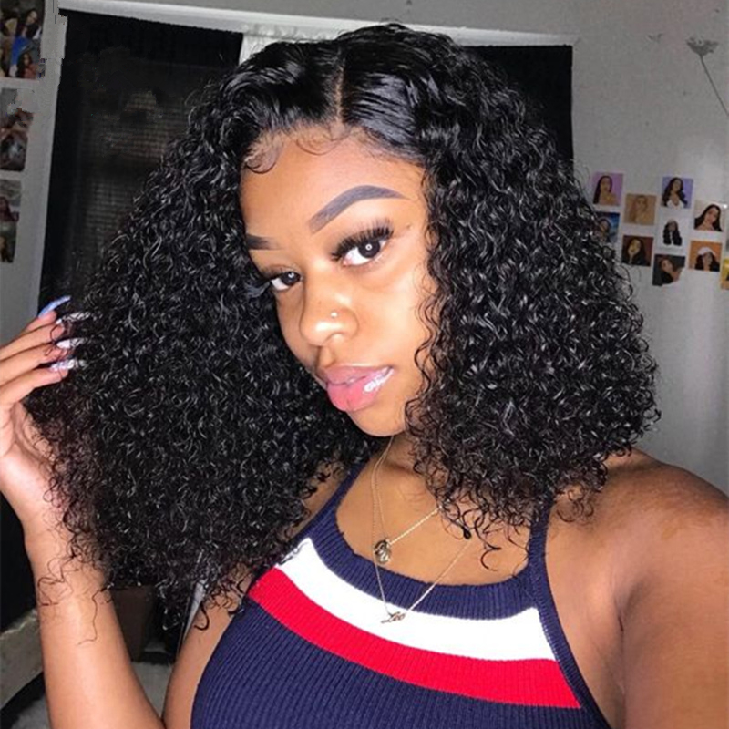 Training Head Riya Short Curly Lace Front Hair Wigs Pre Plucked Hair Bob Lace Front Wigs Black Women High Temperature WireVG0506Training Head Riya Short Curly Lace Front Hair Wigs Pre Plucked Hair Bob Lace Front Wigs Black Women High Temperature WireVG0506