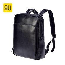 6987fe8aafec Xiaomi 90FUN модный рюкзак из искусственной кожи 14 дюймов Сумка для  ноутбука легкий рюкзак бизнес водостойкий колледж школа муж.