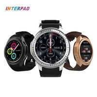 Interpad gpsスマート腕時計montre接続コネクタアンドロイドios bluetooth時計用xiaomiサムスンhuawei社アップル電話スマートウォッ