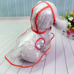 Image 2 - Impermeables capas impermeables transparentes XS XL chubasquero para perros, ropa ligera para perros, accesorios para mascotas, lluvia para cachorros