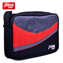DHS table tennis bag double layers for 2 rackets ping pong case(China)
