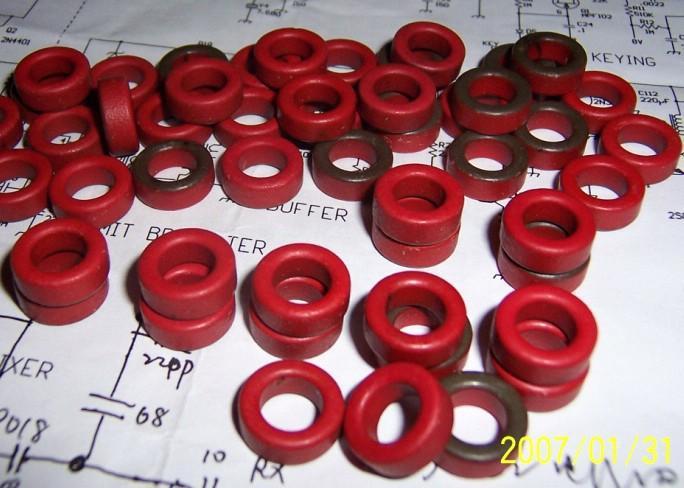 NWE 10pcs T50-2 MICROMETALS TOROID HF, QRP , INDUCTOR