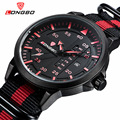 LONGBO Fashion Waterproof Sport Quartz Watch Men's Watches Top Brand Luxury Popular Nylon Strap Military Watch Relogio Masculino