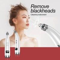Heat Conduction Nursing Cleansing face Facial Beauty Instrument Laser Freckle Vacuum Pore Cleaner Blackheads Electric Acne Clean